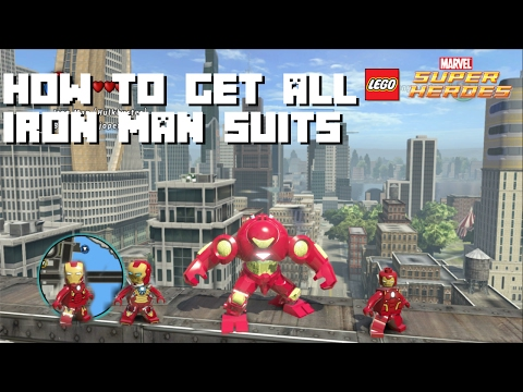 How to Unlock All Iron Man Suits - Lego Marvel Super Heroes - I Am Iron Man Achievement / Trophy