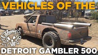 Vehicles of the 2018 Gambler 500