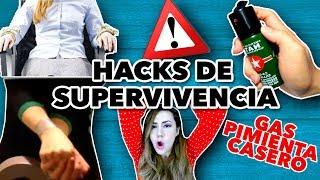 TRUCOS DE SUPERVIVENCIA QUE PODRÍAN SALVAR TU VIDA. MAIRE VS HACKS