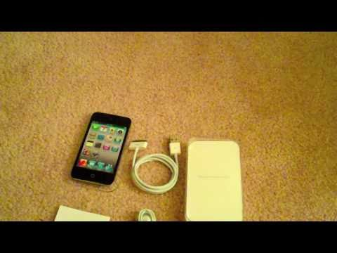 iPod Touch 4th Gen Unboxing