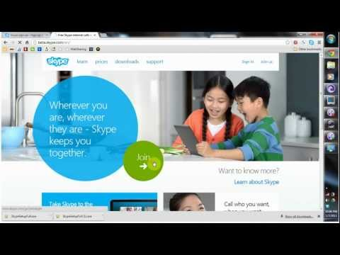 How to install and use Skype