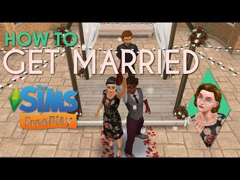 GETTING MARRIED in The Sims Freeplay | With OR Without Wedding Belles