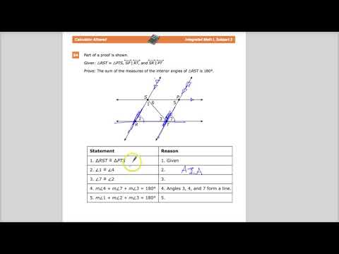 Question 24 - Integrated Math 1 - TNReady Practice Test