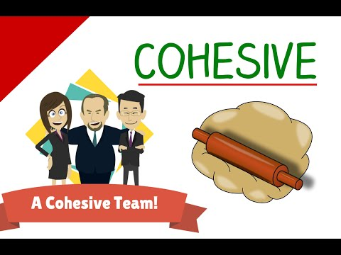 Learn English Words - Cohesive - English For Kids