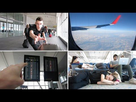 Los Angeles to Santorini - 3 planes 1 day