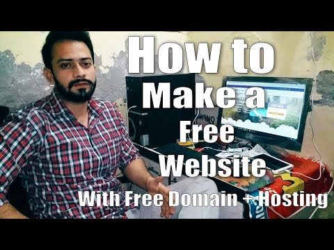 How to Create A Free Website - with Free domain + hosting - with - wordpress website developer