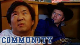 """Math Club! I'm Asian...You Guys Asian?"" | Community"