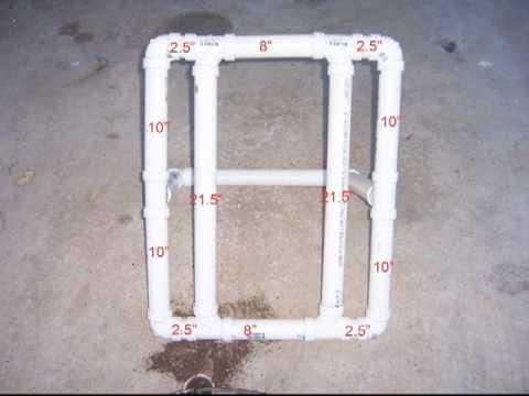 PVC PIPE BIKE STAND