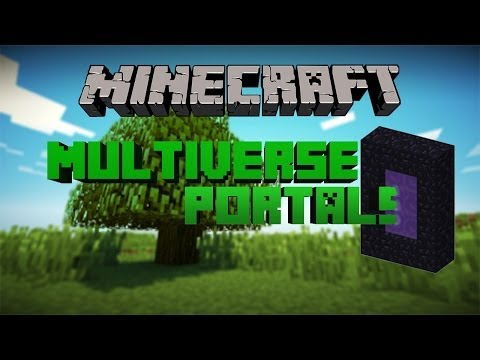 Multiverse-Portals Bukkit Plugin How to Make Portals 1.12