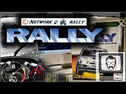 Network Q RAC Rally - MSDOS - 1993 [Review] | Nostalgia Nerd
