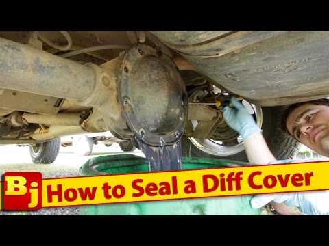 How to Seal a Differential Cover