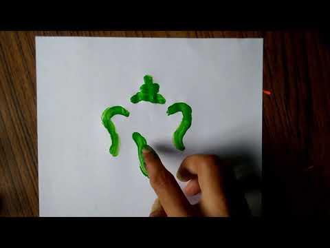 Lord Ganesha Ganpati Drawing for Kids in 1 Minute
