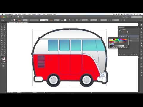 How to Add a Keyline/Outline to Illustrator Graphics