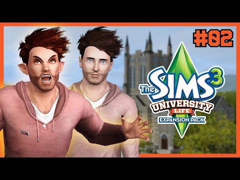 The Sims 3 | Werewolf University - Episode 02 | ALL STUDY AND NO PLAY