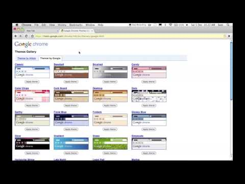 Google Chrome for Mac OS X - Tutorial, Review and Download