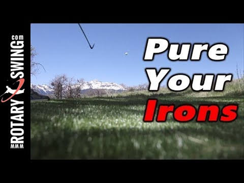 How to Hit the Ball First with Your Irons | No More Chunked Shots!