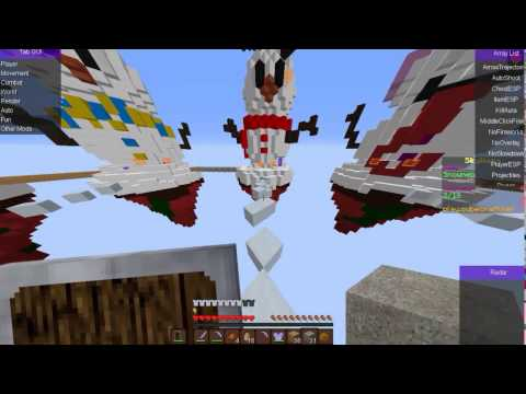 Minecraft hack skywars Special Christmas