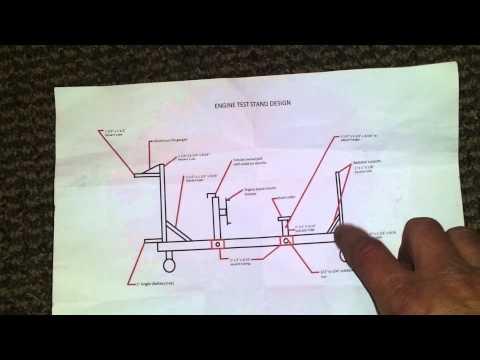 Engine start stand plans
