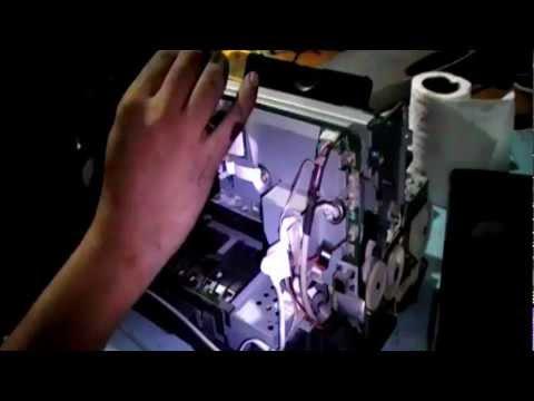 Epson  R230/ R220/ R210 disaasembling part 2 (head removal)