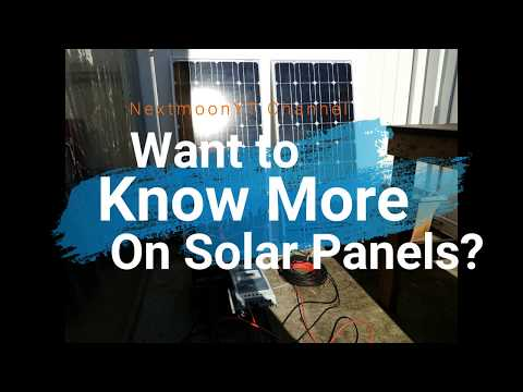 Want to know more on solar panels?