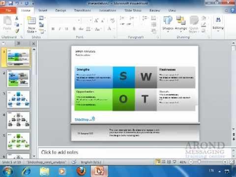 Using PowerPoint 2010 - Print Slides