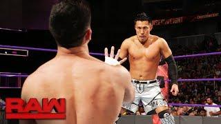 Akira Tozawa vs. TJP: Raw, June 19, 2017
