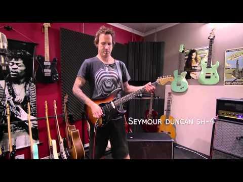 Guitar volume pot listening test 500k vs 250k on Humbucker and Single Coils