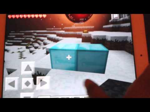 Minecraft pe survival Double cheat #2