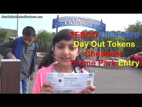Tesco Club Card Vouchers Days Out Tokens Cheapest Theme Parks Entry