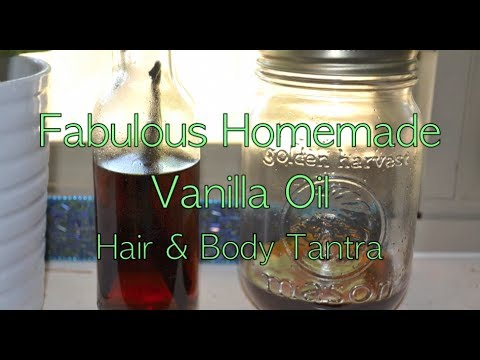 How To Make Homemade Vanilla Oil