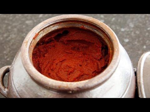 How to make Korean hot pepper paste (Gochujang: 고추장)