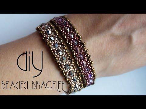 Bracelet | How to make bracelets | Beaded Bracelet | Beaded Bracelet Tutorial | Black Pearl