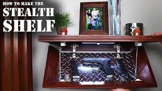 Download How To Make the Stealth Shelf! (Homemade Concealment Shelf) Video