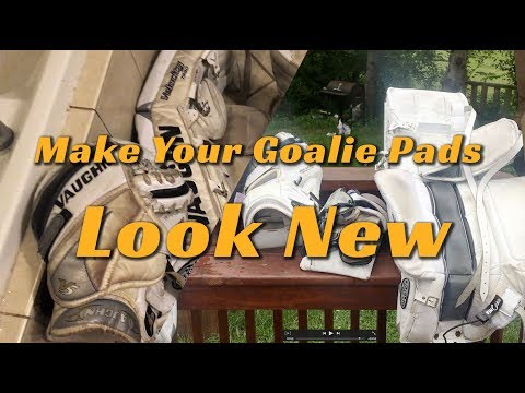How To Clean Your Hockey Goalie Pads