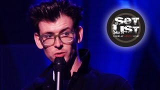 MOSHE KASHER Sleeps with the Elderly- Set List: Stand-Up Without a Net - Comedy Week Live