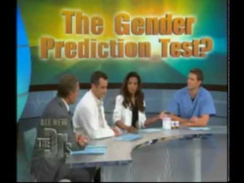 Intelligender on The Doctors TV show - Early gender prediction test