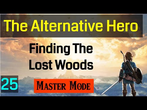 025 Master Mode Breath of the Wild   Master Sword Location Finding the Lost Woods