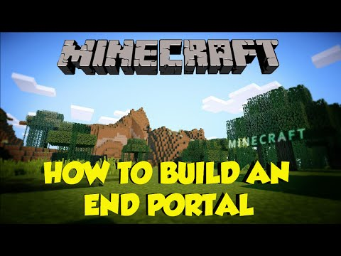 My End Portal Isn't Working: How to make an end portal in creative mode minecraft 1.9