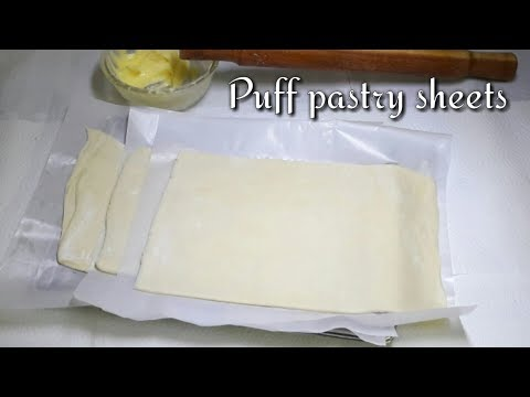 Puff Pastry Sheets recipe | how to make puff pastry sheets | puff pastry | puff pastry recipe