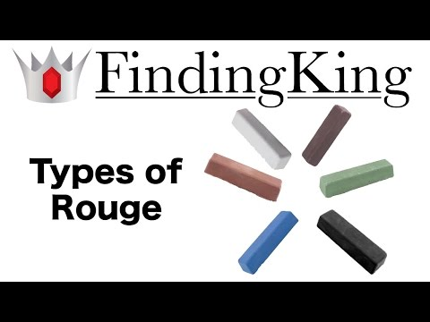 What are the different types of rouge?