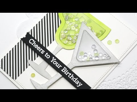 How to Create a Margarita Shaker Card
