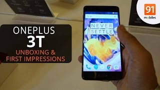OnePlus 3T: First Look | Hands on | Launch