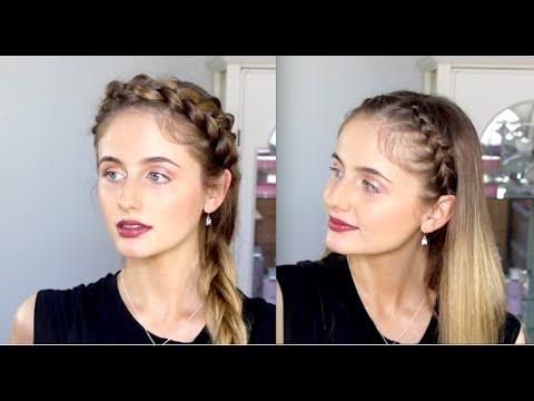 Braid Headband Tutorial | Two Hairstyles