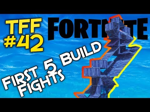 My First Build Fights (Fortnite) Top Five Friday #42