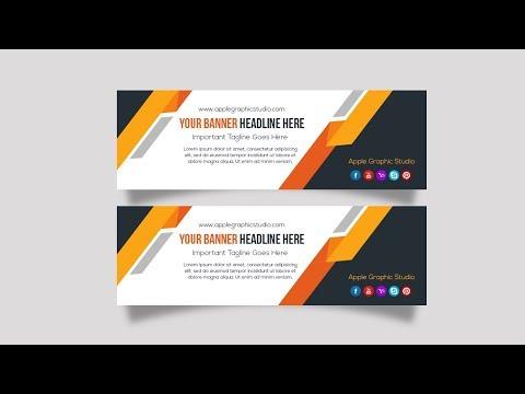 Adobe Photoshop Tutorial | Web Banner Design