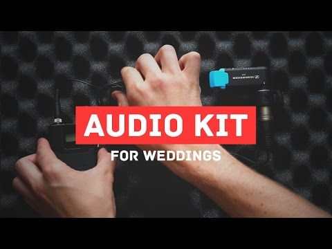 How to Record Great Audio at Wedding Ceremonies and Receptions