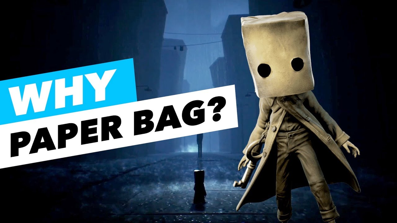 The HIDDEN SECRET Why Mono Wears A Paper Bag - Little Nightmares 2 Theory