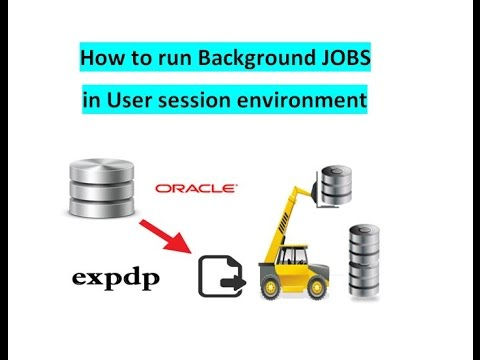 10.How to run Background job in Expdp/Impdp