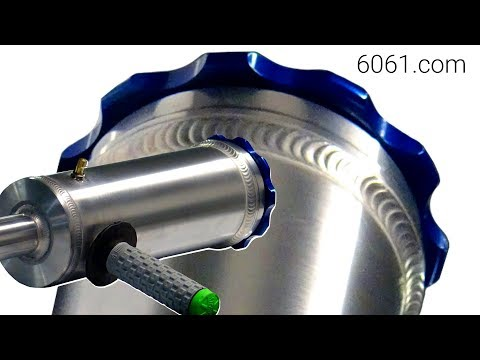 TIG Welding Aluminum Fabrication- Handheld Potato Launcher