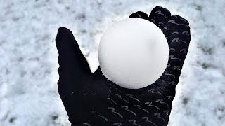 THE IMPOSSIBLE PERFECT SNOWBALL CHALLENGE !!!